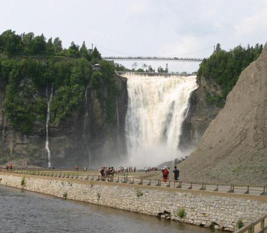 Квебек и водопад Монморанси