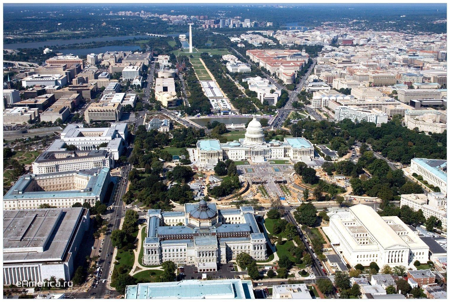 Экскурсия в Вашингтон, столицу США, 12 часов